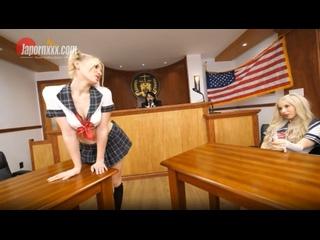 Melody Marks & Kenzie Reeves - Japornxxx ## JAV amwf foursome blonde teen schoolgirl uniform blowjob sex porn creampie
