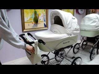 Обзор кожаной детской коляски Stroller B&E Maxima Elite XL
