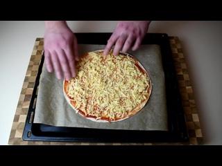 Пицца Пепперони за 10 мин I Пицца из лаваша ну, оОчень вкусная.mp4
