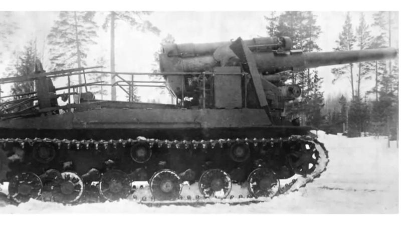 Необычное оружие СССР С 51 Опытная Самоходная Артиллерийская Установка времен Второй Мировой