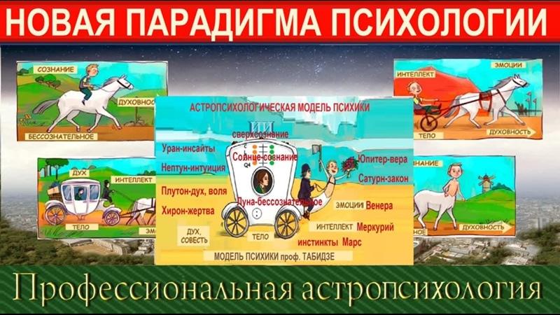 Новая парадигма ПСИХОЛОГИИ Астролог Надежда КОРСАКОВА