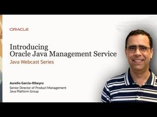 Announcing Oracle Java Management Service