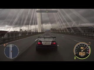 NFS Most Wanted на улицах Санкт-Петербурга