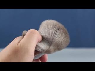 Maange 12 шт высокое качество кисти для макияжа набор большой свободный порошок основа для макияжа контур тени для век бровей