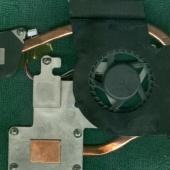 Система охлаждения ноутбука samsung r425l