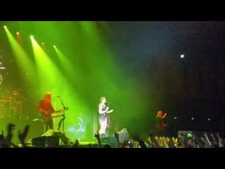 Часть концерта Nightwish, одна песня