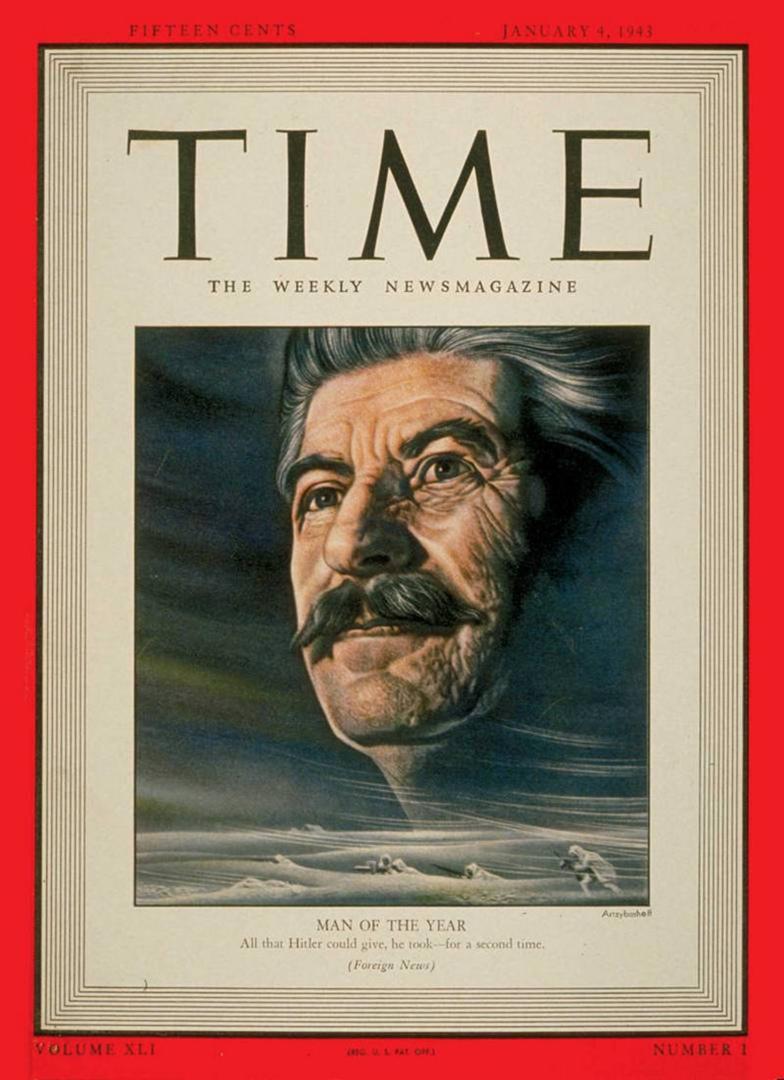 И.В.СТАЛИН – «ЧЕЛОВЕК ГОДА 1942»