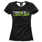 Женская футболка Trance Century Radio
