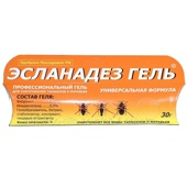 Эсланадез гель от тараканов и муравьев