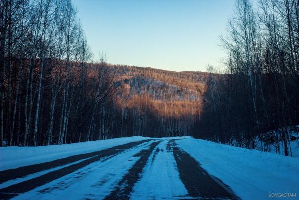Комсомольскую трассу также закрыли для автобусовКа...