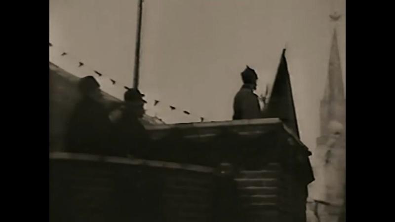 Парад на Красной площади 7 ноября Кинохроника 1922 года