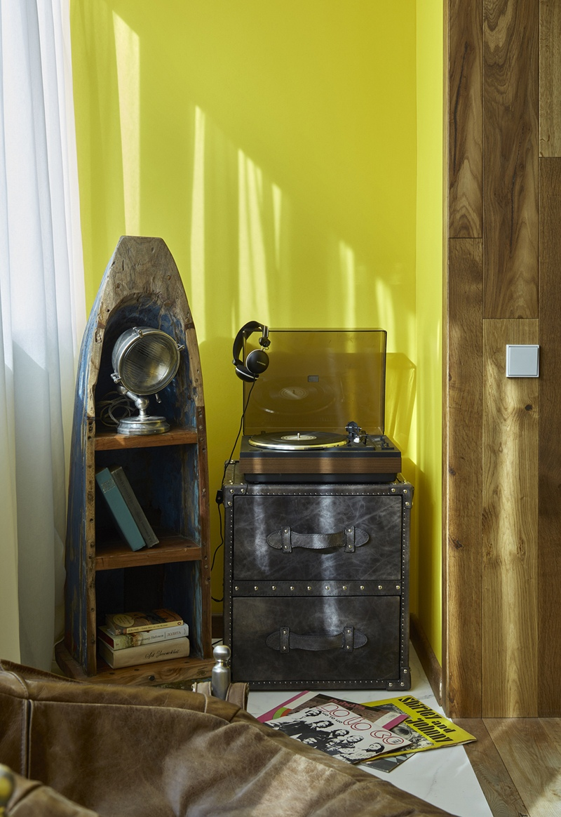 Интерьер квартиры 28 м в Ленинградской области.