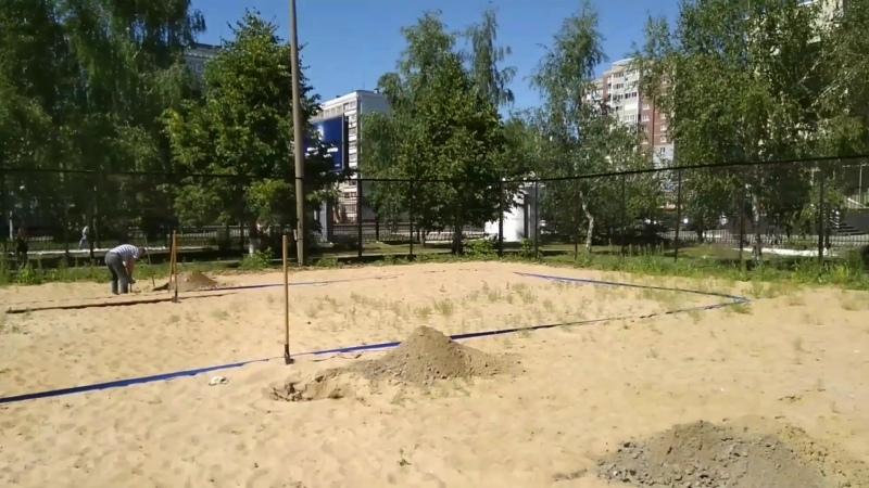 Ставим площадки на стадионе ручных игр Ни жний Новгород