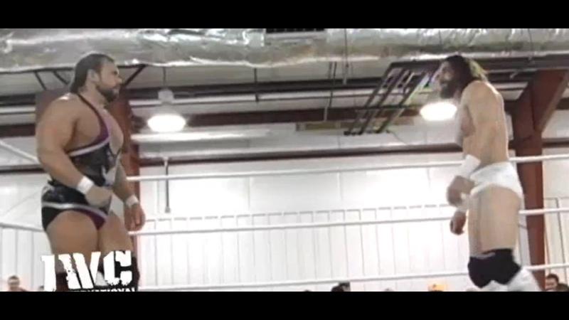 Logan Shulo Elias WWE Vs Michael Elgin IWC Combat In Clearfield 5