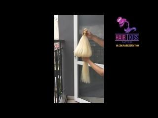 Фабрика HairKiss. Натуральные волосы для наращивания опт