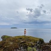 Заброска по Онежскому озеру в глушь