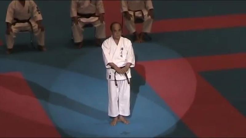 Kata SOCHIN by Arakaki Isamu, hanshi 10th dan
