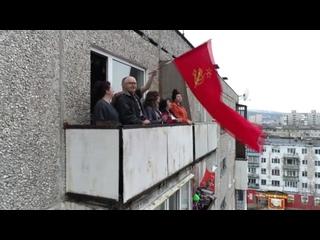 #ПоёмДвором на улице Лобова в Мурманске