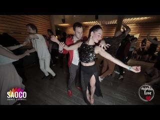 Patrick Steindl and Olesya Petrova Salsa Dancing at Mambolove #Northernlights 2020, Sunday
