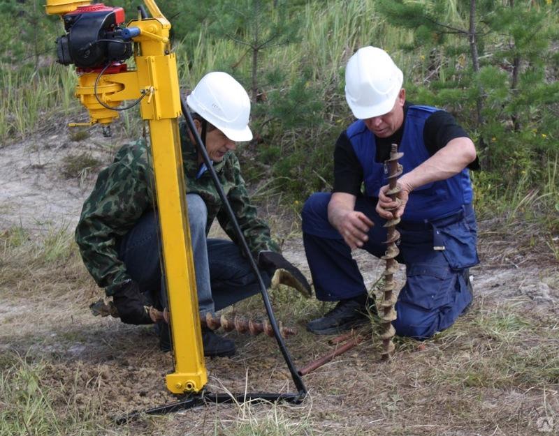 Проведение геологоразведочных работ