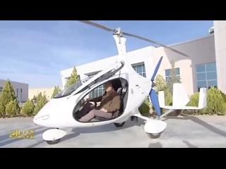 Туркменистан получит беспилотники и модный вертолет для шефа :