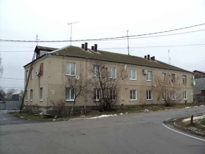 Типовая советская жилая архитектура 50-х годов в Белоомуте., изображение №17