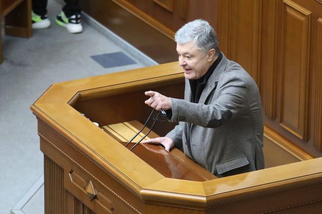 Порошенко в парламенте назвал «говном» вакцину от коронавируса для украинцев