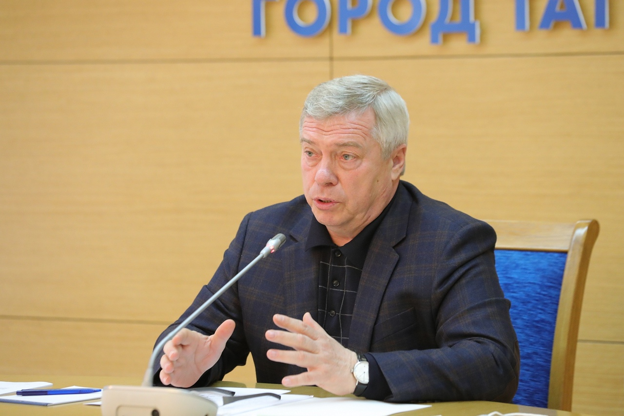 Губернатор Ростовской области Василий Голубев провел выездное совещание по развитию Таганрога