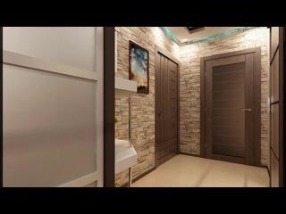 Искусственный декоративный камень в интерьере прихожей и коридора. Идеи отделки стен в прихожей