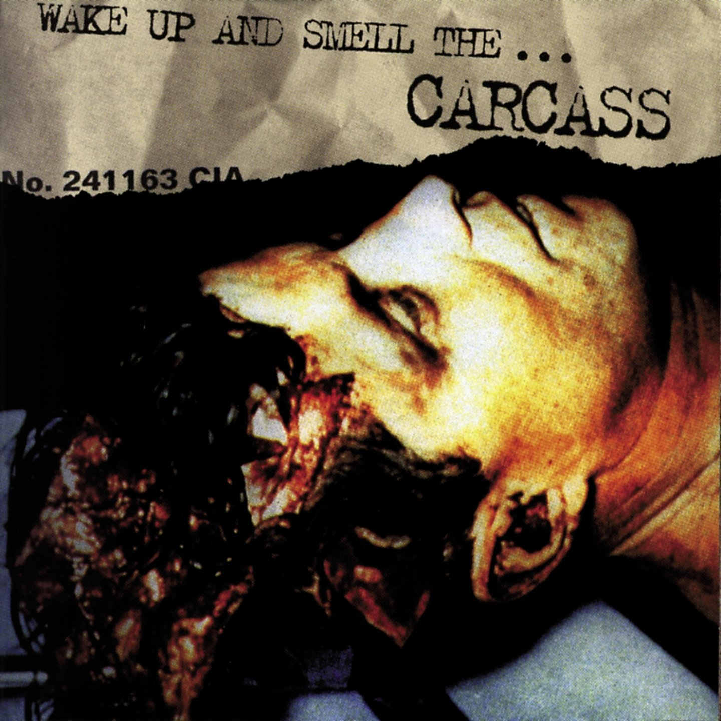 Carcass album Wake Up And Smell The Carcass