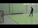 Как играть в мини-футбол. 3 выпуск - удар с носка