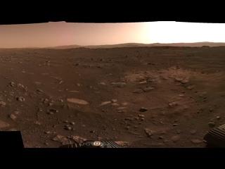 NASA опубликовало панораму Марса, снятой ровером Perseverance