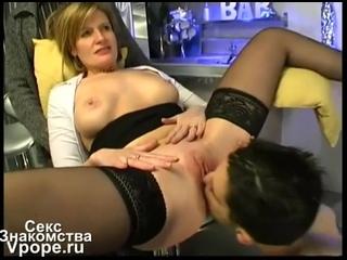 Муж устроил своей жене порносьемку с молодым самцом (Порно со зрелыми, mature, MILF, Мамки Porn Секс) 18+