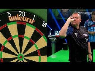 Glen Durrant vs Daryl Gurney (PDC Premier League Darts 2020 / Week 12)