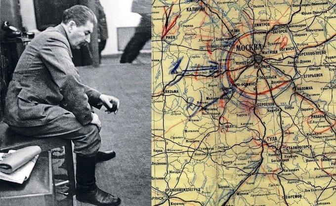 15 октября 1941 года после того, как немецкие войска подошли к Москве на расстоя...