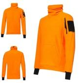 F0 оранж, флисовая кофта