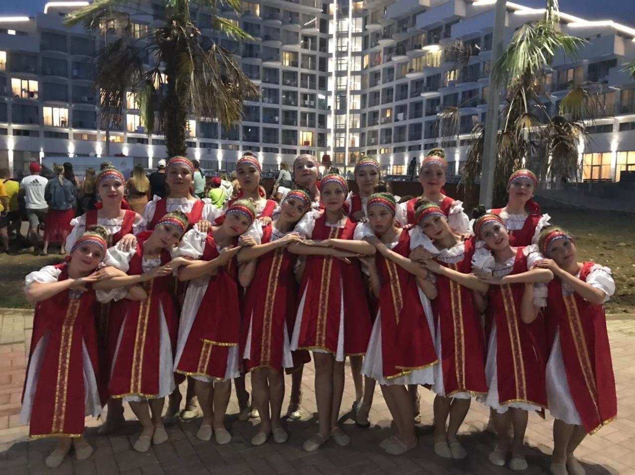 Можгинки - победительницы международного танцевального конкурсаСоревнования проходили