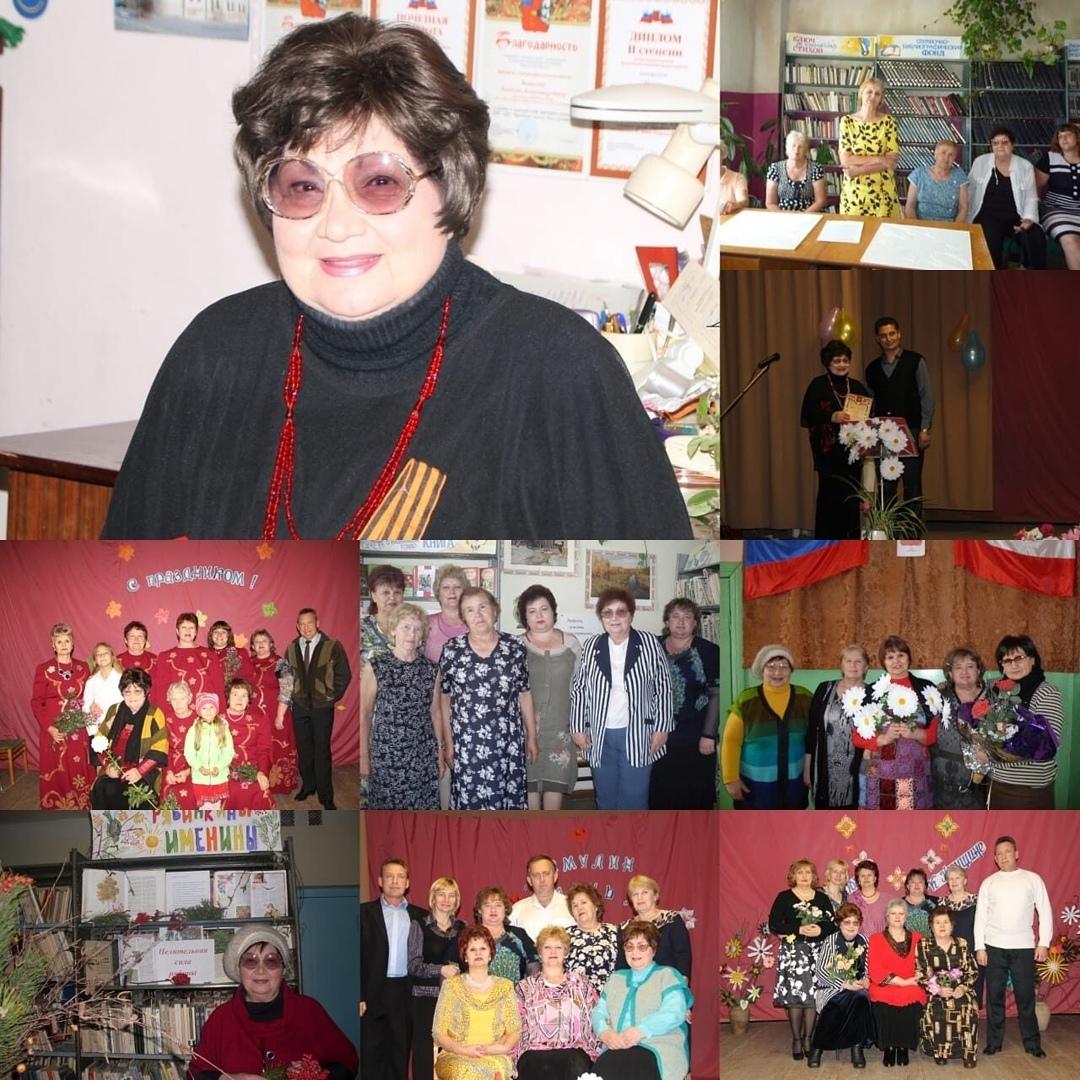 В селе Берёзовка Петровского района поздравили с юбилеем поэтессу Галину ЗИНИНУ