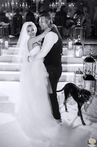 Гвен Стефани поделилось фотографиями со свадьбы