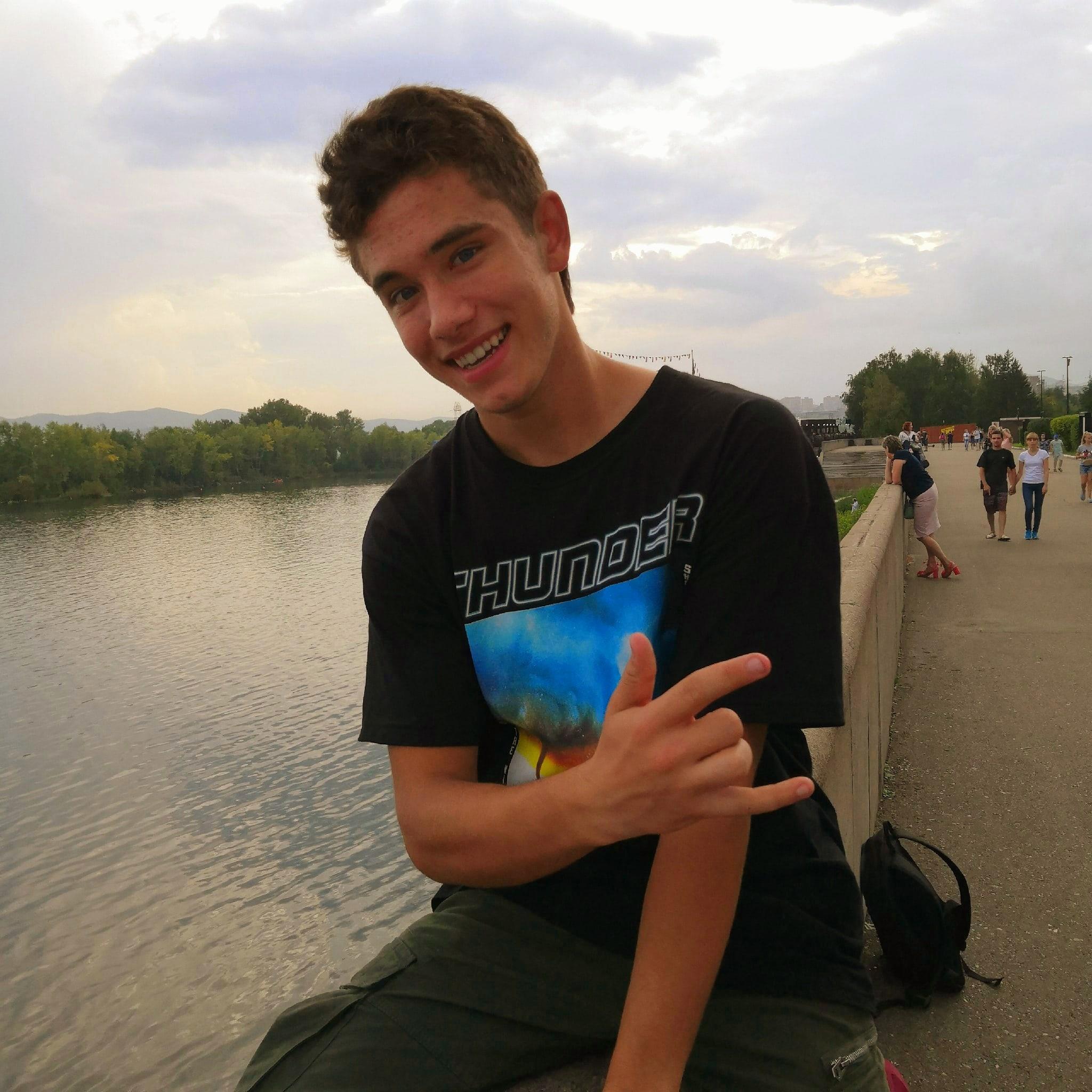 Паша, 18, Krasnoyarsk