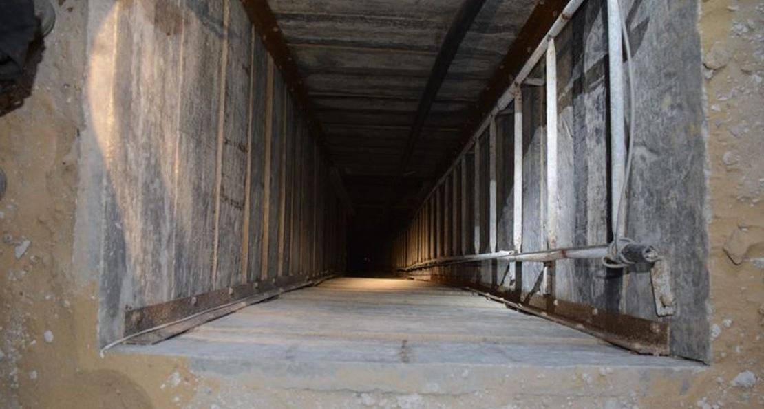 Тоннель боевиков ХАМАС