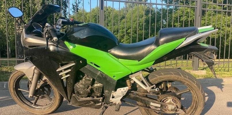 Погоня в Минске: «бесправник» на мотоцикле пытался уйти от ГАИ