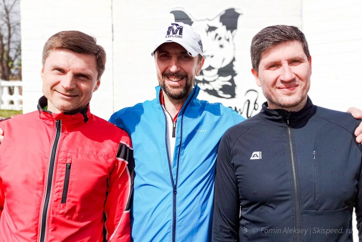 Ярославские спортсмены забега на 10 км Притяжение весны 2021 (Ярославль)