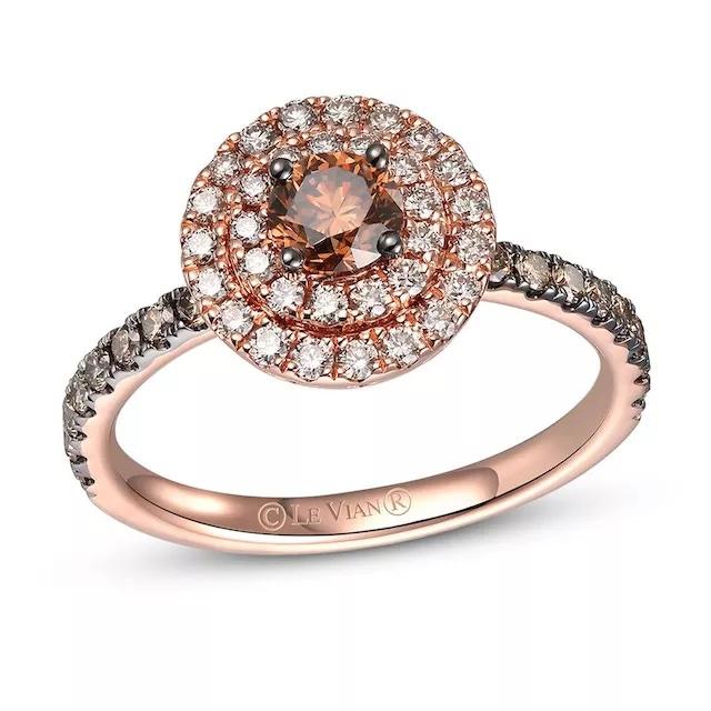 6FijpwuU6s - Шоколадные бриллианты в обручальных кольцах - звучит мечтательно