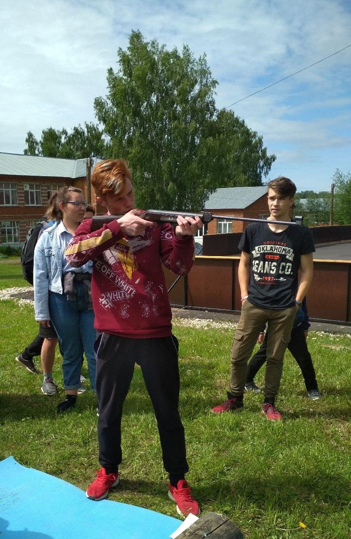 В последний учебный день в Русско-Пычасской школе