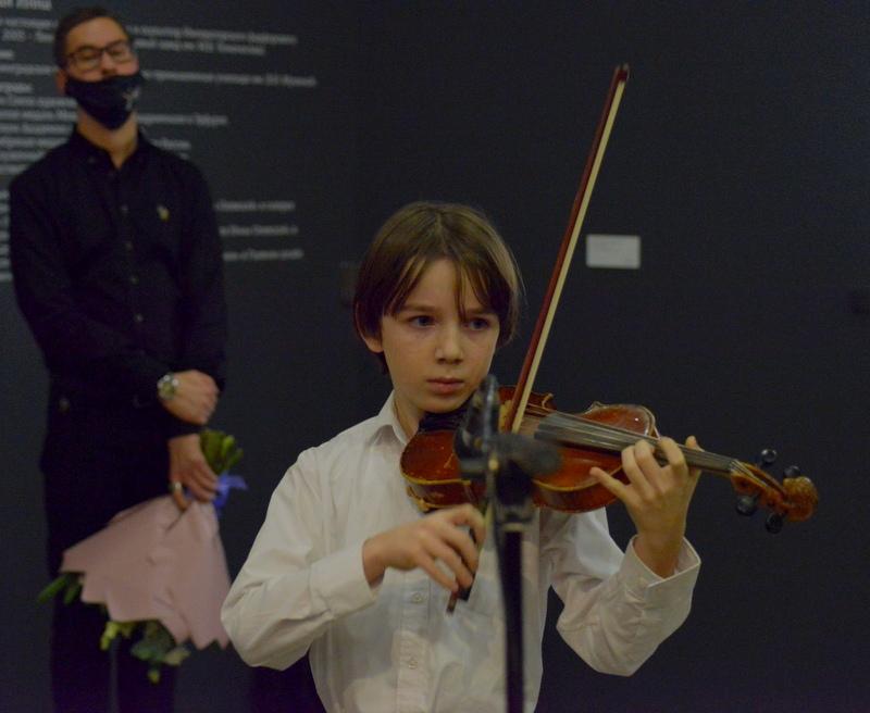 Музыкальный подарок для Инны Олевской и гостей