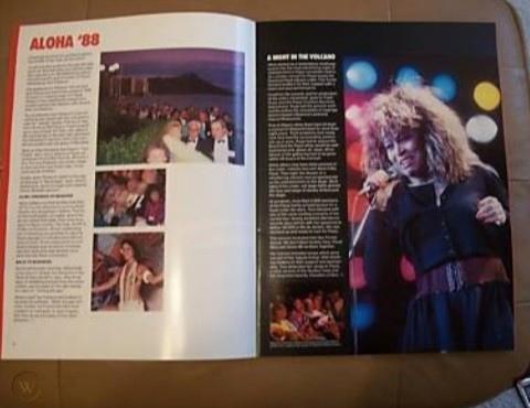 Немер журнала The Pepsi World в котором возможно есть фото Майкла и Сейфчака с конвенции боттлеров на Гаваях. В нём также рассказывается о выступлении Тины. До конца неясно выступала ли она в этот раз. Слева видны нарядно одетые боттлеры, идущие на концерт или с концерта.