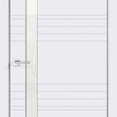 Дверное полотно  SCANDI N Z1 Эмаль  остекленное                 Стекло Лакобель Белое