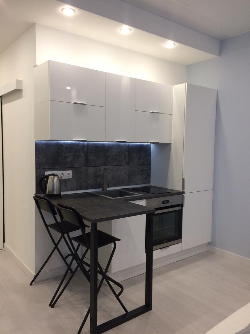Ремонт маленькой квартиры-студии 22 м.