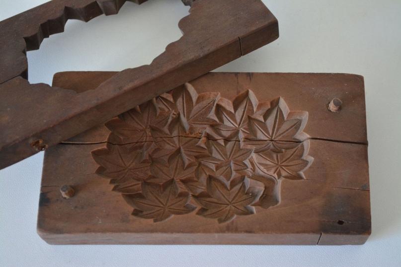 Японские деревянные резные формы Кашигата, изображение №20